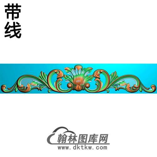 欧式帽顶洋花精雕图(MDH-020)