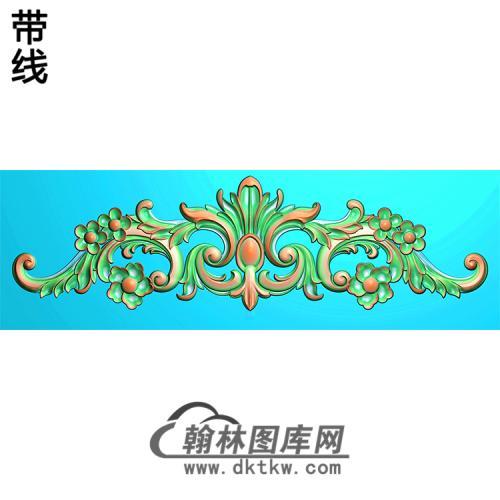 欧式帽顶洋花精雕图(MDH-144)