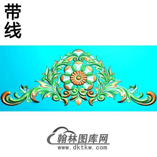 欧式帽顶洋花精雕图(MDH-250)