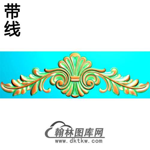 欧式帽顶洋花精雕图(MDH-251)
