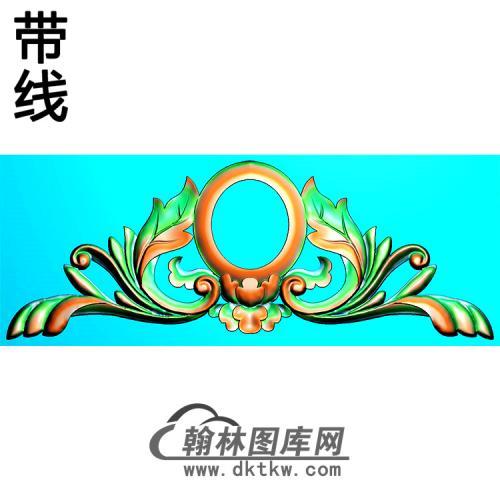 欧式帽顶洋花精雕图(MDH-253)