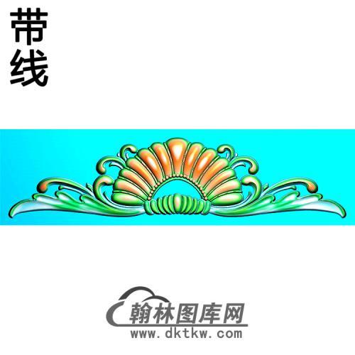 欧式帽顶洋花精雕图(MDH-254)