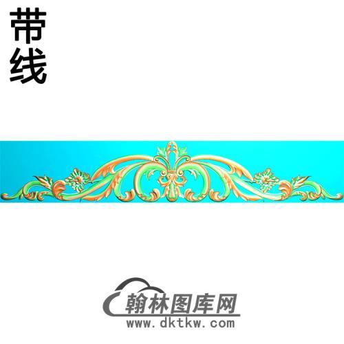 欧式帽顶洋花精雕图(MDH-260)