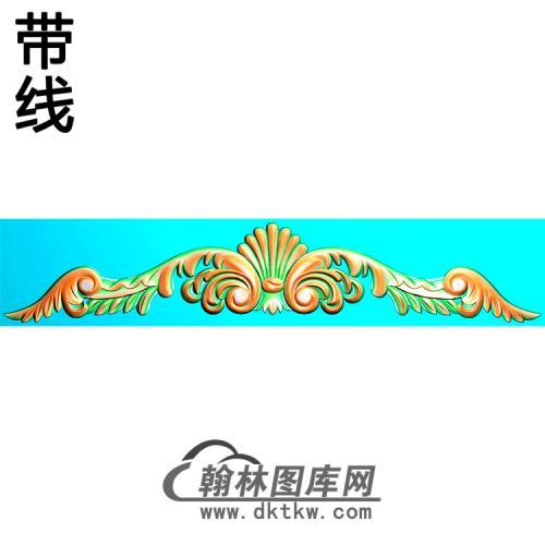欧式帽顶洋花精雕图(MDH-261)