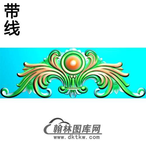 欧式帽顶洋花精雕图(MDH-265)