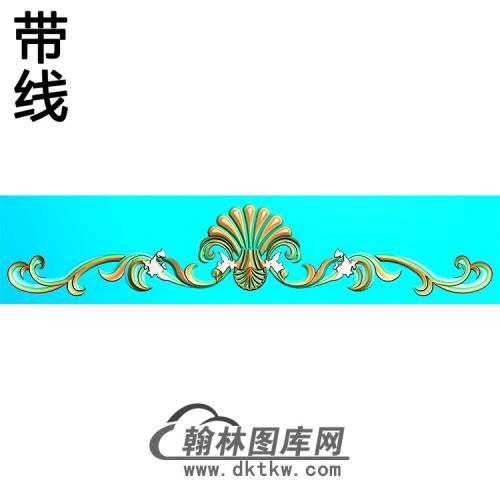 欧式帽顶洋花精雕图(MDH-271)