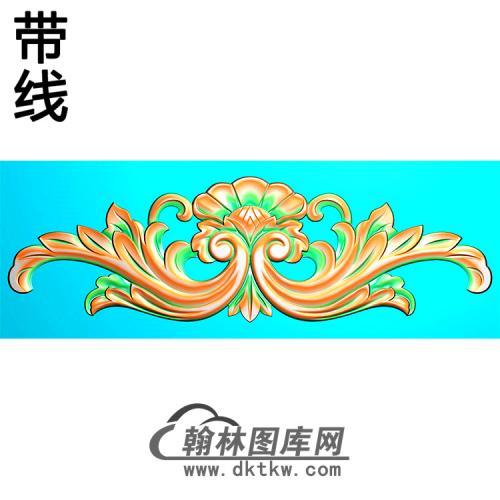 欧式帽顶洋花精雕图(MDH-273)