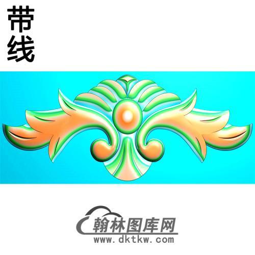 欧式帽顶洋花精雕图(MDH-282)