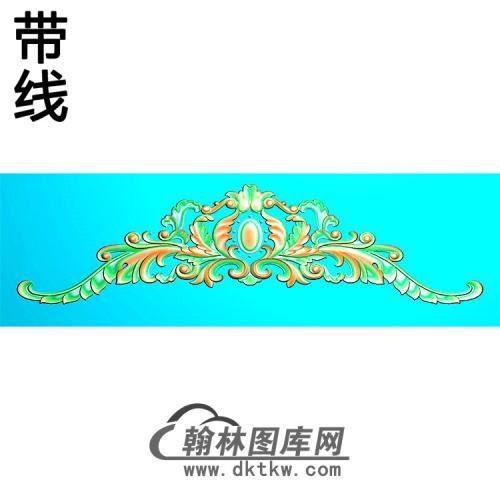 欧式帽顶洋花精雕图(MDH-280)