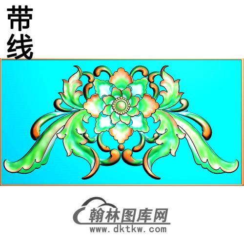 欧式帽顶洋花精雕图(MDH-279)