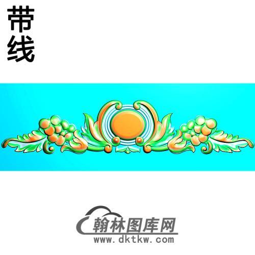 欧式帽顶洋花精雕图(MDH-277)