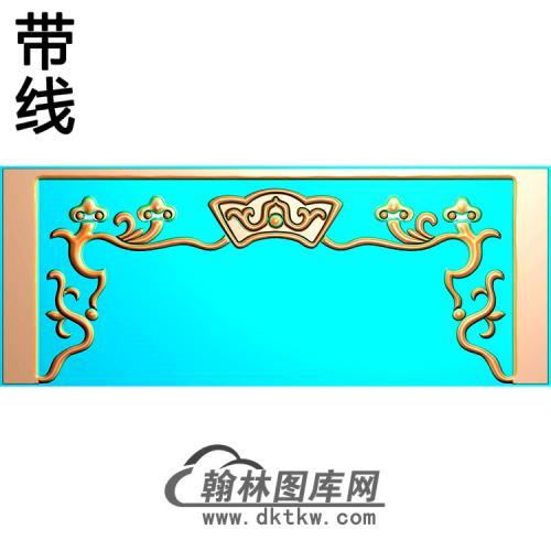欧式洋花角花精雕图(YJH-136)