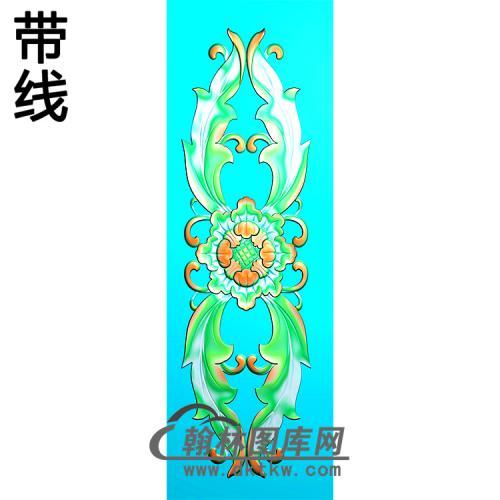 欧式长方形洋花精雕图(CYH-410)