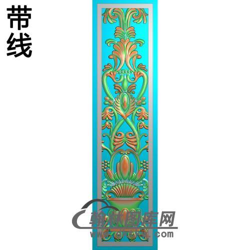 欧式长方形洋花精雕图(CYH-533)