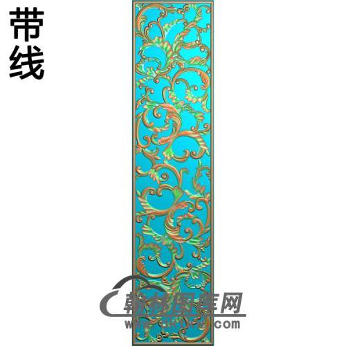 欧式长方形洋花精雕图(CYH-536)