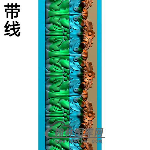 欧式腰线.束腰精雕图(YHH-003)