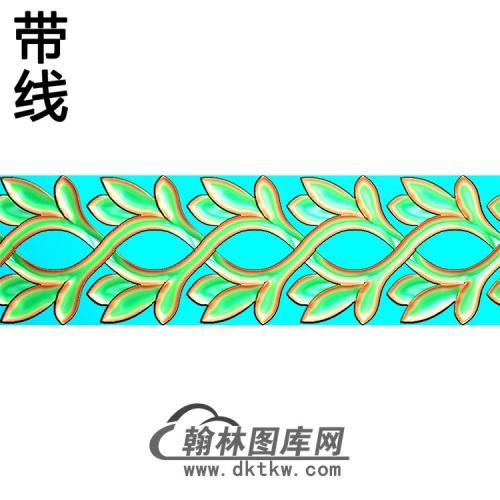 欧式腰线.束腰精雕图(YHH-007)