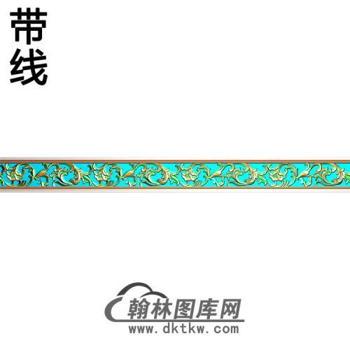 欧式腰线.束腰精雕图(YHH-013)
