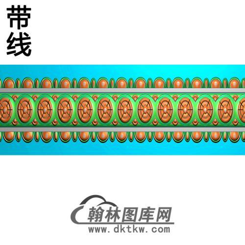 欧式腰线.束腰精雕图(YHH-069)