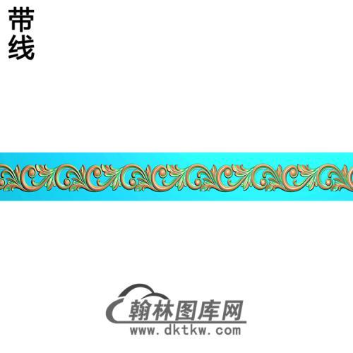 欧式腰线.束腰精雕图(YHH-115)