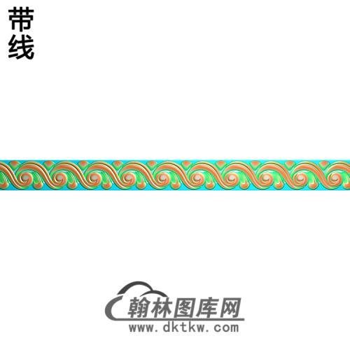 欧式腰线.束腰精雕图(YHH-139)