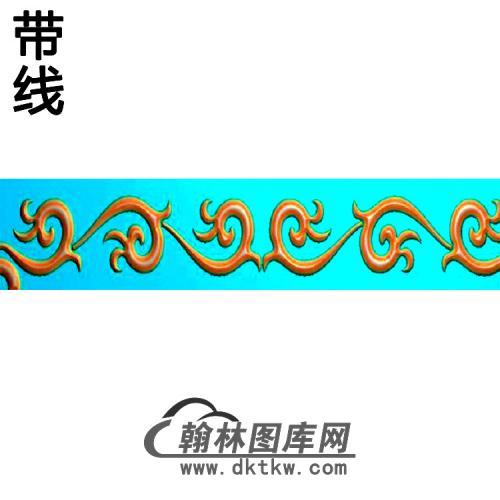 欧式束腰.腰线精雕图(YHH-285)