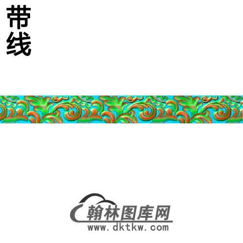 欧式束腰.腰线精雕图(YHH-294)