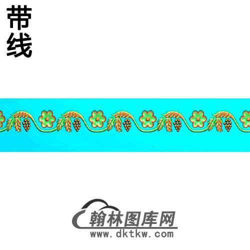 欧式束腰.腰线精雕图(YHH-296)