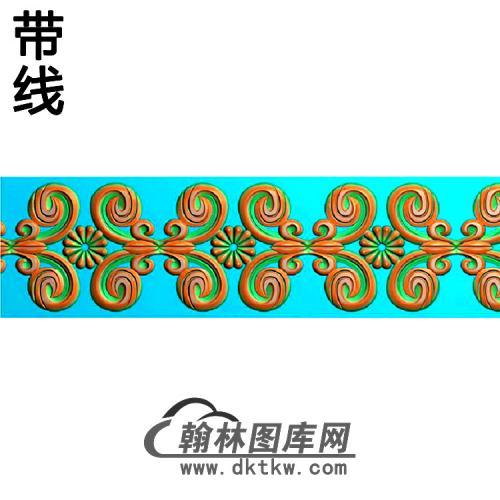 欧式束腰.腰线精雕图(YHH-302)