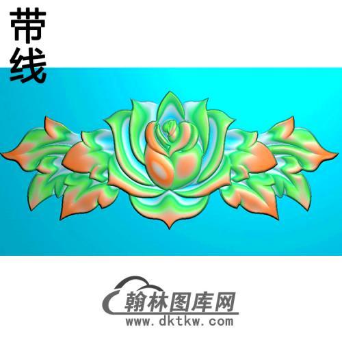 欧式洋花精雕图(QTH-034)