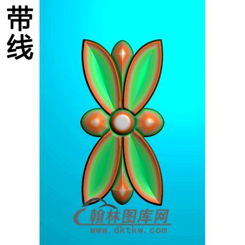 欧式洋花精雕图(QTH-106)