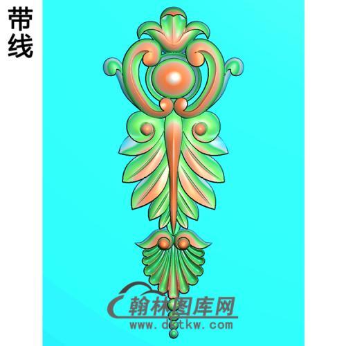 洋花精雕图(QTH-136)
