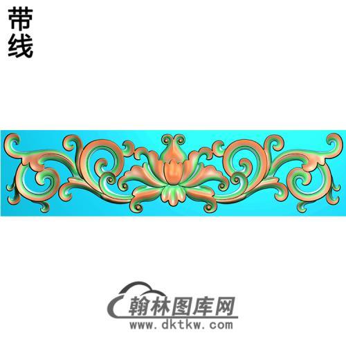 欧式洋花精雕图(QTH-144)