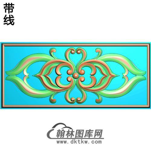 欧式洋花精雕图(QTH-146)