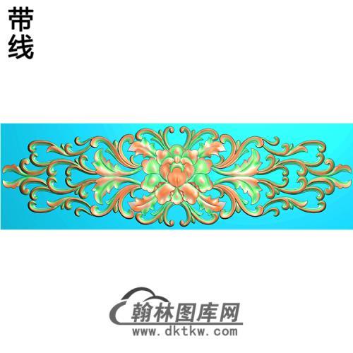 欧式洋花精雕图(QTH-148)