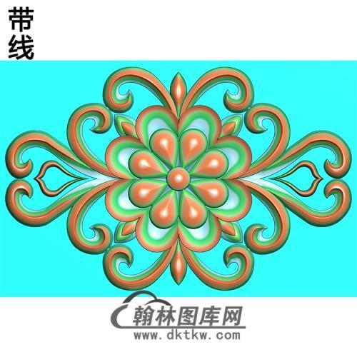 欧式洋花精雕图(QTH-242)