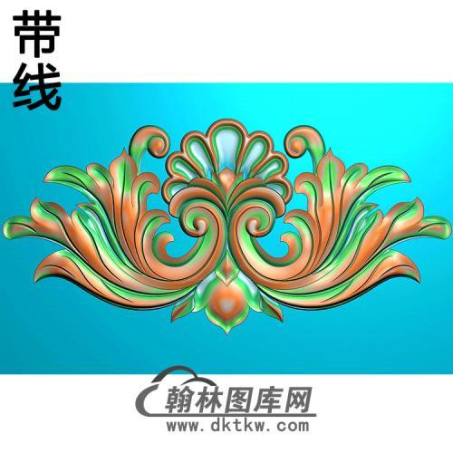 欧式洋花精雕图(QTH-250)