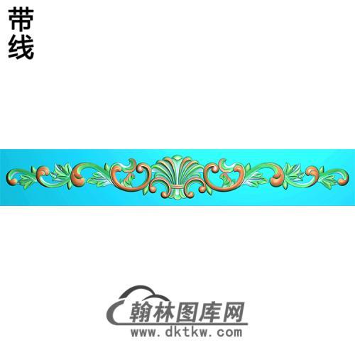 欧式洋花精雕图(QTH-329)