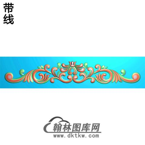 欧式洋花精雕图(QTH-330)