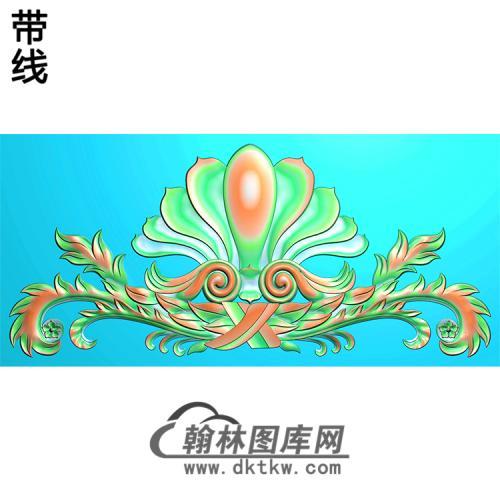 欧式洋花精雕图(QTH-371)