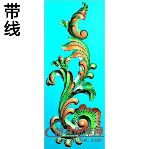 欧式洋花精雕图(QTH-534)