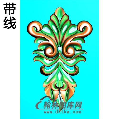 欧式洋花精雕图(QTH-558)