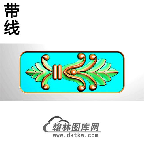 欧式洋花精雕图(QTH-583)
