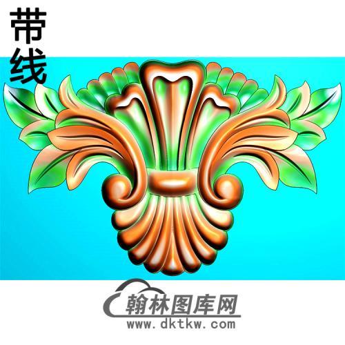 欧式洋花精雕图(QTH-585)