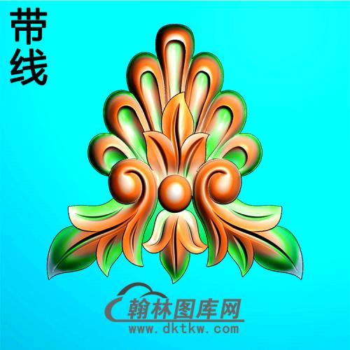 欧式洋花精雕图(QTH-586)