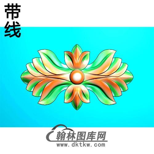 欧式洋花精雕图(QTH-587)