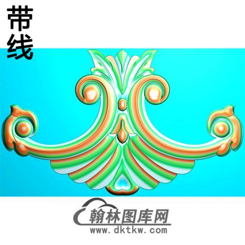 欧式洋花精雕图(QTH-589)