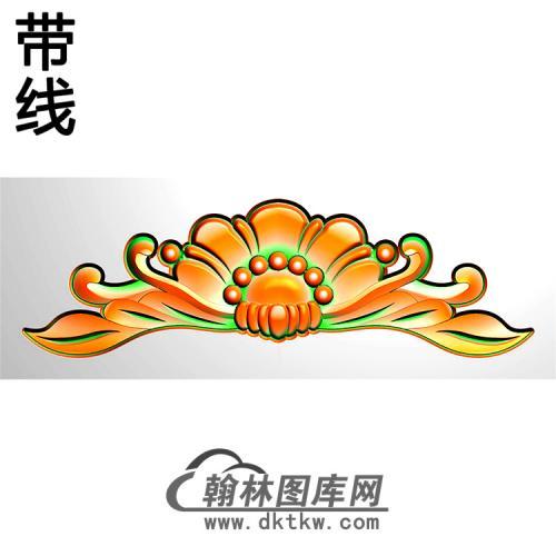 欧式洋花精雕图(QTH-594)
