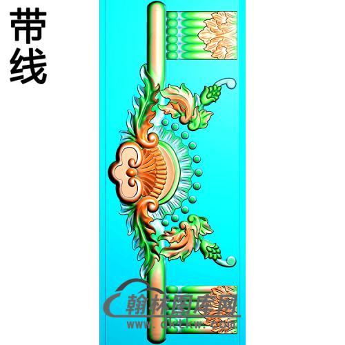 欧式洋花精雕图(QTH-595)