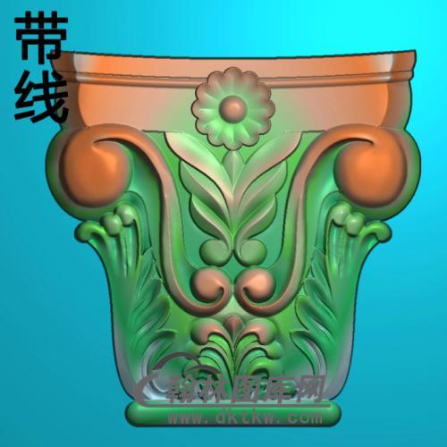 欧式罗马柱头精雕图(LZT-002)